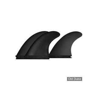 "DERIVE SURF FX1 3 FINS PVC 4"""