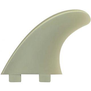 "DERIVE SURF FX2 3 FINS PVC 4"" FX2 CLEAR"